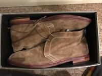 Men's designer suede shoes