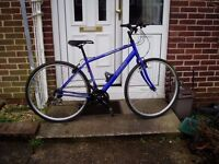 "HYBRID BIKE, 18"" FRAME, 700c Alloy Wheels, All New Cables,Professionally Fitted, Serviced."