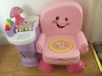Fisher price interactive pink seat