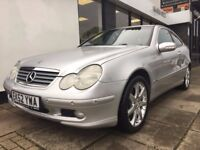 Mercedes-Benz C Class 2.1 C220 CDI 2dr PARTS & LABOUR WARRANTY