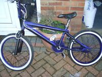 BMX unfinished project custom made not got time to finish looking for £20 brakes needs looking at,