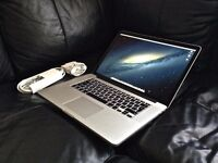 """MacBook Pro 15"""" Retina High End Dual Graphics 512GB with Apple Care Warranty"""