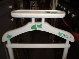 VINTAGE PAINTED CLOTHES STAND