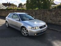 AUDI S3 QUATTRO LOW MILLEGE , NOT RS3, S4, FR, VXR, GTI,