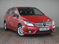 MERCEDES-BENZ B CLASS B180 CDI BLUEEFFICIENCY SE 5DR AUTO (red) 2012