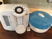 Tommee Tippee Closer To Nature Perfect Prep Machine & Dr brown steriliser