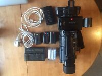SONY HVR-Z1E w/Tapes, Carry Case, Batteries and firewire cable