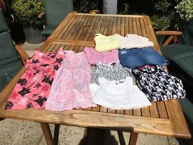 Girls clothing 8 - 9 years old