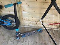 Kids 2 wheel scooter