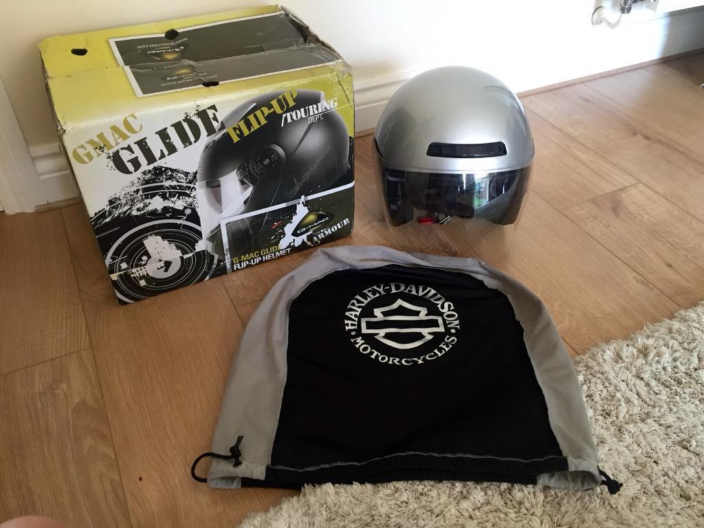 Harley Davidson motorcycle motorbike helmet