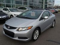 2012 Honda Civic EX , Bluetooth , Toit Ouvrant