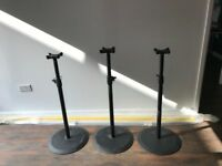 SPEAKER STAND: Set of 3 Genelec Speaker Stand (Perfect for finishing/editing/audio/recording studio)