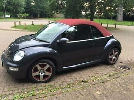 VW Beetle Convertible, 2005, special edition, low mileage