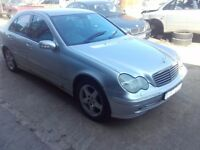 2002 Mercedes C class W203 c220 cdi om611 automatic BREAKING FOR PARTS SPARES
