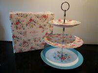 New Cath Kidston cake stand with gift box