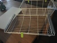 Baskets, brackets and shelves for Twin slot