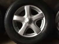 Isuzu Dmax (D-max 4x4) Genuine Original Alloy Wheel with Tyre - NEVER USED!