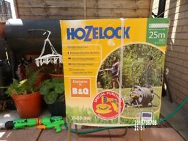 hozelock 25mtr with attachements, NEW,