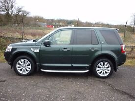 2011 (61) Sd4 HSE Auto. PRIVATE SALE. 44,000 miles Full LRSH, Galway green metallic almond leather.