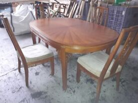 Dining Table 4Chairs
