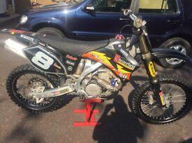 Yamaha yzf 450 motor cross