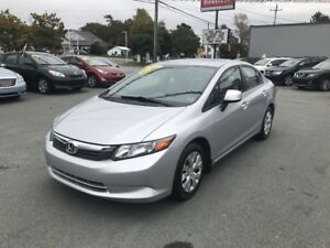 2012 Honda Civic LX(Own from $99 bi-weekly, w/ $0 down, OAC)