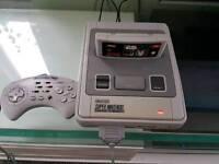 Super Nintendo snes + game