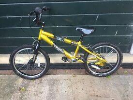 BMX Bike - gold/black, excellent condition