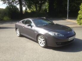 2009 Hyundai coupe s3 full mot+leather