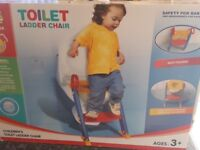 Baby Toddler Potty Training Toilet Seat & Step Ladder Loo Trainer (New in a box - Not used)