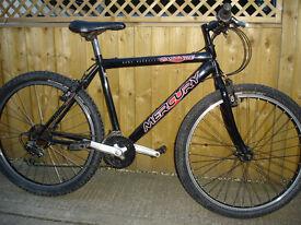 mans/teenagers bike,murcury cascade