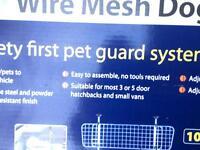 Wire mesh dog guard
