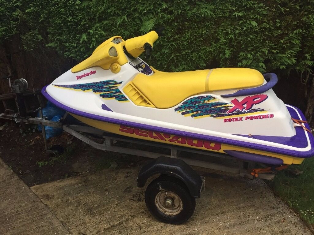 1995 Seadoo XP 720 Jetski with trailerin Dorchester, DorsetGumtree - Selling my 1995 Seadoo XP 720 jetski complete with trailer as dont really have time to use it due to work commitments. I have had some great times using this and have always flushed it out after being used. It is started on a regular basis on hose...