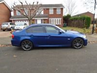 2009 BMW 325D M SPORT AUTOMATIC, LOW MILES, FULL SERVICE HISTORY, DRIVES LIKE NEW, GOOD CONDITION