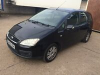 2005 Ford C-Max 2.0 Tdci Ghia in Black, New 12 months Mot! Drive Away Today!