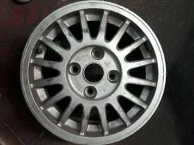 Audi 90 100 Gt Avant Coupe Genuine Alloy Wheel Part no 853601025A