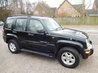 Jeep Cherokee 3.7 V6 Limited Station Wagon Auto 4x4 5dr 2001 (51 reg), SUV