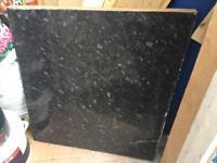 61cm x 66cm Black Marbled Laminate Countertop