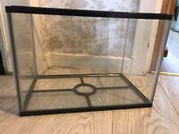 Small water tank fish hamster terrarium...........smoke free home