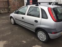 VAUXHALL CORSA 52REG FULL YEAR MOT GOOD CONDITION