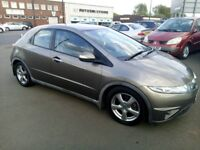 (06) Honda civic 1.8 automatic MOT -may 2019 only 44,000 miles service history astra clio megane