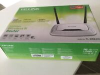 TP~LINK wireless router for CABLE. Brand new & still in box