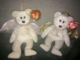 TY beanie babies(various animals)