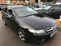 2006/06 HONDA ACCORD 2.2i CTDi EX 4DR BLACK,EXCELLENT CONDITION,FULL LEATHER INT,