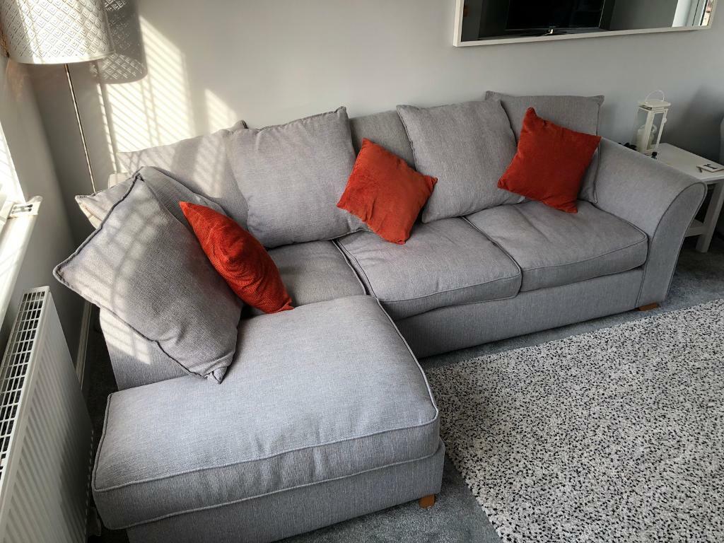 Corner Sofa Grey 120 In Chapeltown South Yorkshire Gumtree