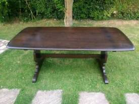 Ercol Dining Table Delivery Available