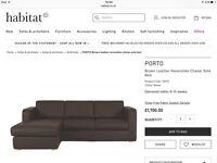 HABITAT PORTO sofa bed