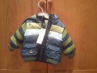 M&S coat - size 0-6 months - New & unused (labels attached)