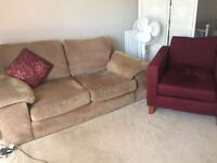 FREE - Sofa and Arm chair