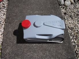 Waste water container for a caravan.